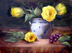 Yellow Roses of Texas - 12 x 16